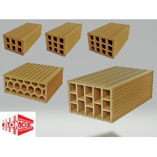 Hollow Brick Block Rethymnian