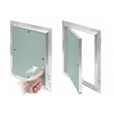 Dry wall Hidden Access Panel with Alouminum Body