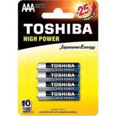 Alkaline Battery AAA LR3 4pc. Toshiba