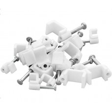Cable Clips 100pc Eurolamp