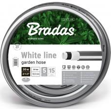 """Garden Hose 1/2"""" BRADAS White Line 30m"""