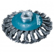 Knoted-type circular Wire Brush M14 D100 Makita