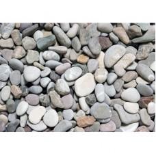 River pebbles 2-4 cm bag 25kg