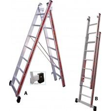 Double Extention Ladder 2.00 m