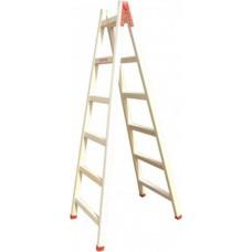 Folded Wooden Ladder 6+6 Steps 2.00m