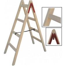 Folded Wooden Ladder