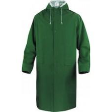 Raincoat Green Delta Plus