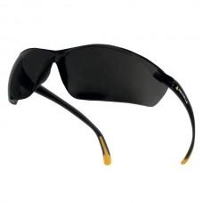 Polycarbonate Glasses Tinted  Meia Smoke Delta Plus