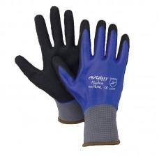 Latex Gloves Blue Black