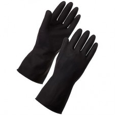 Latex Elastict Gloves XL