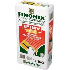 KP100W Acrylic C1T 25Κg White Tile Adhesive