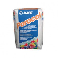 Porocol 25Kg Cementitious-based adhesive mortar in powder form for breeze-block walls