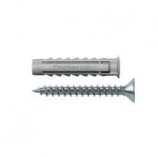Plug with Chipboard Screw UX 8*50 R S/15 Fischer
