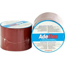 Adeflex Self-Adhesive Red Bitumen Tape with Aluminum Bakings 10m