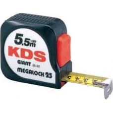 Measuring tape 5.5m 19mm KDS