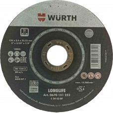 Cutting Disk for Marble/Stone 115*2.5 Longlife Wurth